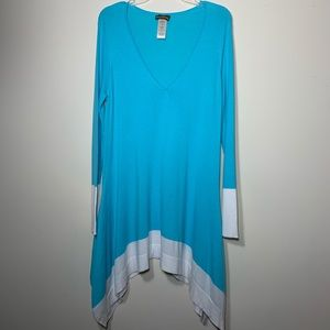 Tommy Bahama Color Block Bathing Suit Cover Up L